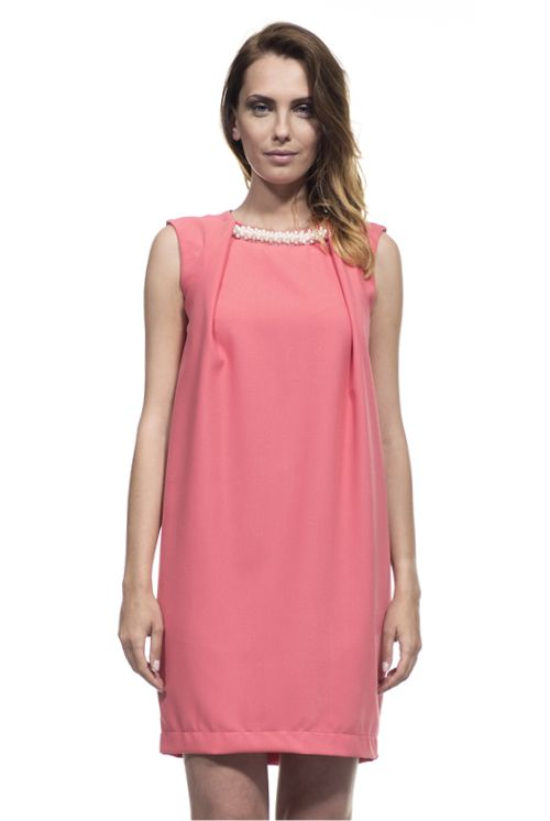 Pearl Coral Dress...Spring Summer 2014 by Verysimple... See more at www.verysimple.it