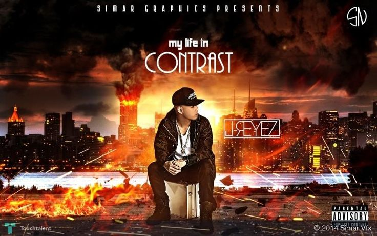 my life in contrast (j reyez) by simarvfx #Creative #Art #Design @touchtalent.com