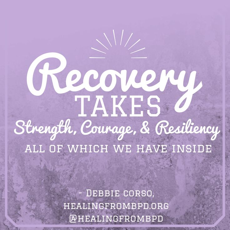 You have the strength, courage and resiliency inside you to recover. #recovery #quotes #mentalhealth