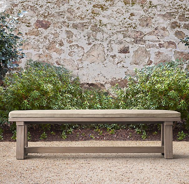 CARL LIKES BENCHES Bench  Comes In Multiple Lengths. French Beam Weathered  Teak Dining Bench