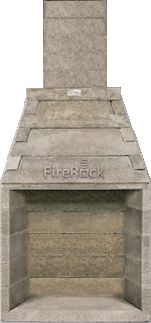 DIY Opening - etc -FireRock Fireplaces, Fire Pits, Masonry Outdoor Fireplace Kits & More