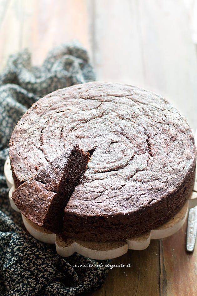 Torta paradiso al cioccolato (soffice al cacao)