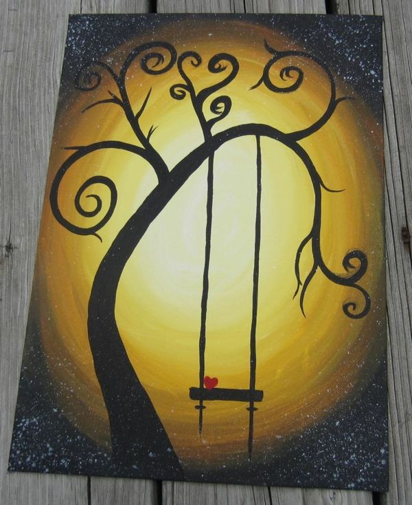 Ber ideen zu anf nger malen auf pinterest for Leinwandbilder selber malen