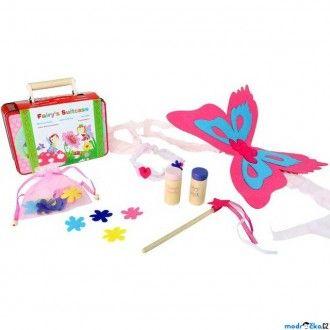 Dřevěné hračky - Víla - Set v kufříku, Vílí sada (Legler)