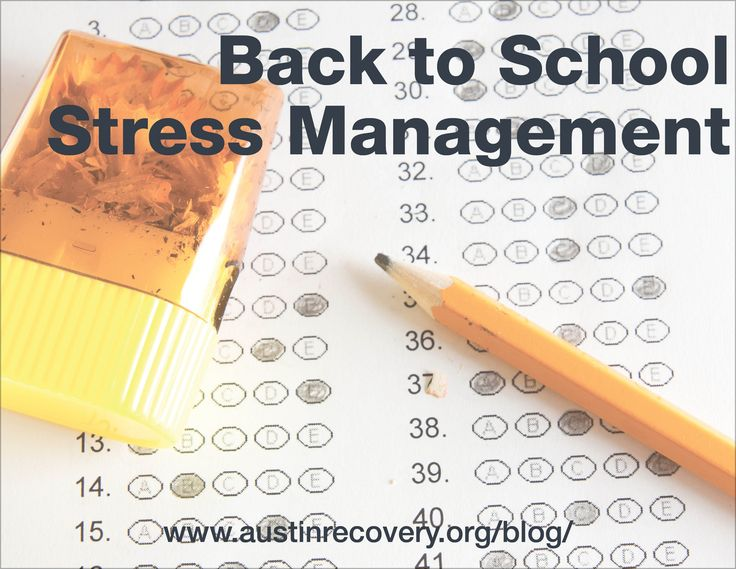 Happy Friday! August is almost here and that means a new school year is just on the horizon. Today's Austin Recovery Addiction Rehab blog post comes from Jill Ahrens, one of our counselors at the Center for Recovering Families with our sister organization, The Council On Alcohol and Drugs Houston, and focuses on how to manage the stress and change a new school year can bring. Read the full post by following the link below: http://www.austinrecovery.org/blog/?p=1583