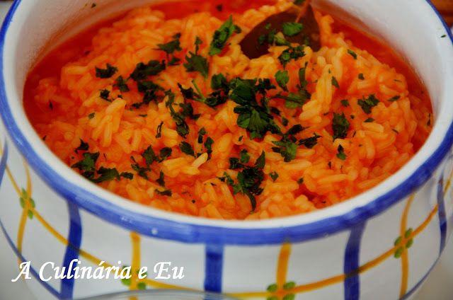 """A Culinária e Eu ...: Arroz de Tomate """"malandrinho"""" [Bimby//Thermomix]"""