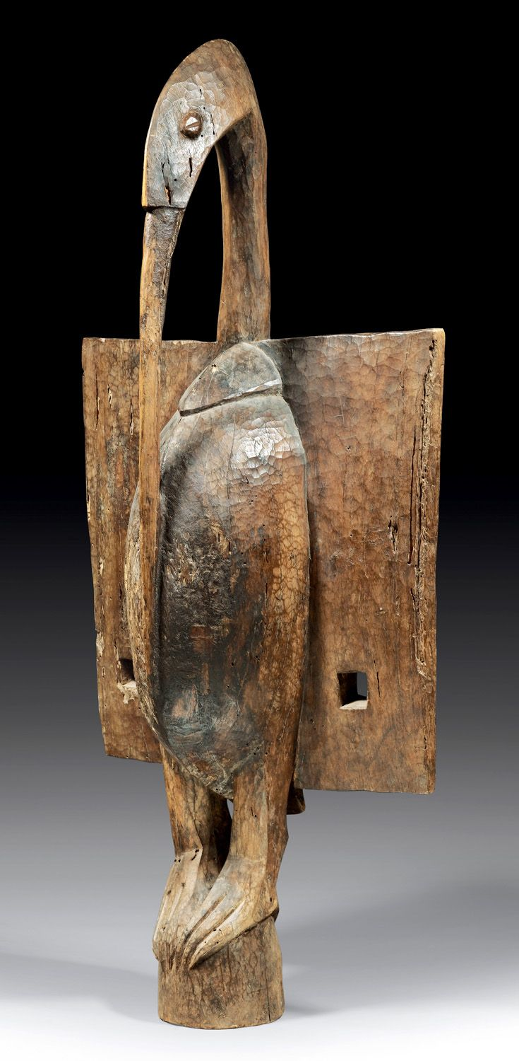 Africa | Bird sculpture from the Senufo people of the ...