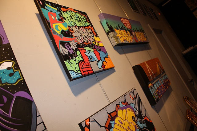 Street Art at Can Pop Gallery by Norteone & Allre