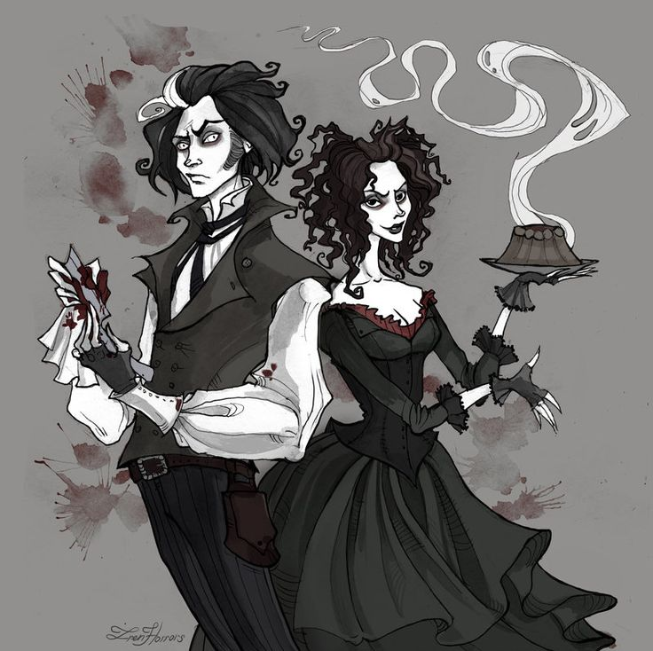 Mrs Lovett's Meat Pies by IrenHorrors