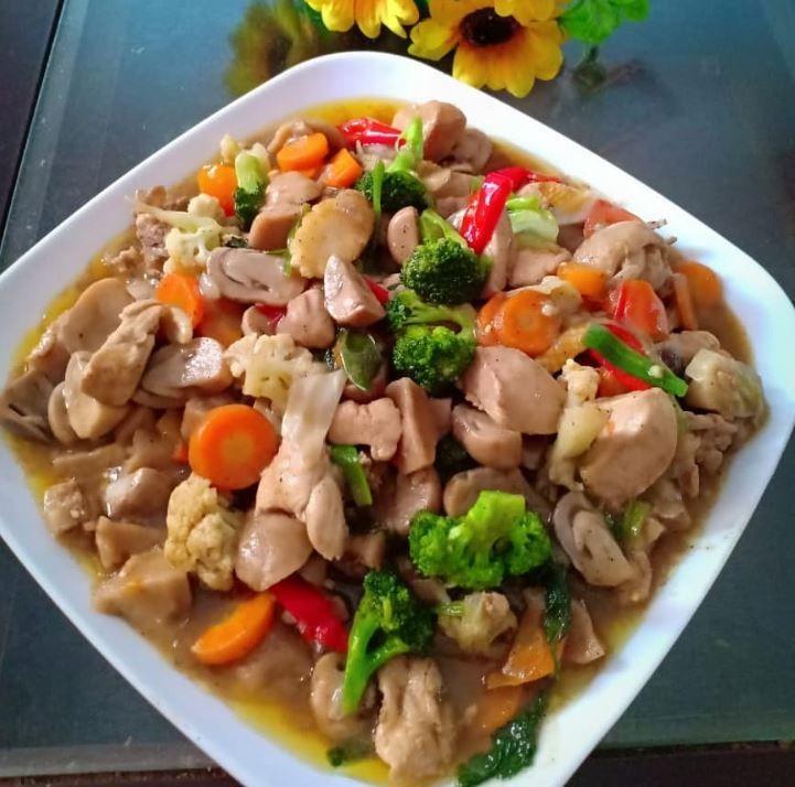 Resep Masakan Capcay Cah Bakso Resep Resep Masakan Makanan Dan Minuman