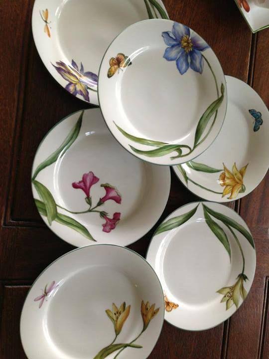 17 mejores ideas sobre platos pintados en pinterest - Platos decorativos modernos ...