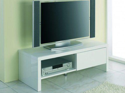 HAKU Möbel 86309 TV-Rack, 49 x 110 x 38 cm, weiß