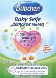 Бюбхен мыло детское с ромашкой с рождения 125г  — 102р. -------- Детское мыло бережно очищает чувствительную кожу ребенка и ухаживает за ней.   В состав мыла входят растительные масла и экстракт ромашки. Они минимизируют риск возникновения аллергии у ребенка. Экстракт ромашки обладает мощным противовоспалительным и антисептическим действием, у него множество целебных свойств, поэтому его применяют для снятия покраснения и раздражения с кожи. Это великолепное средство для решения проблем с…
