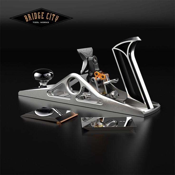 The CT-18 Dual/Low Angle Smoothing Plane is unlike any other smoother—past or present. The all metal front and rear totes, the symmetrically pierced sides, dual ground irons, a blade lock mechanism never before seen in a smoothing plane, and the ability to attach depth skids makes this plane one of the most versatile and usable planes you will ever own. #woodworking #bridgecitytools