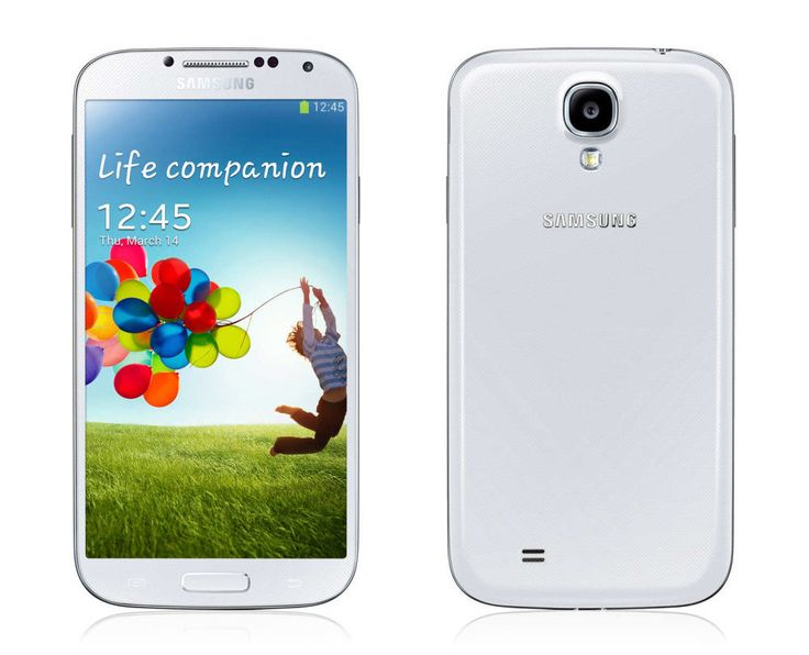 New Samsung Galaxy S4 GT-I9500 -16GB Quad-core -White Frost Unlocked Smartphone