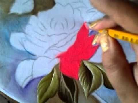 Pintando Camino De Rosas Con Cony Uno