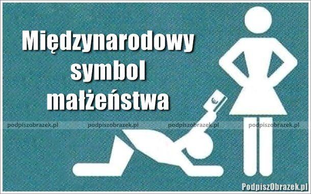 Międzynarodowy symbol małżeństwa