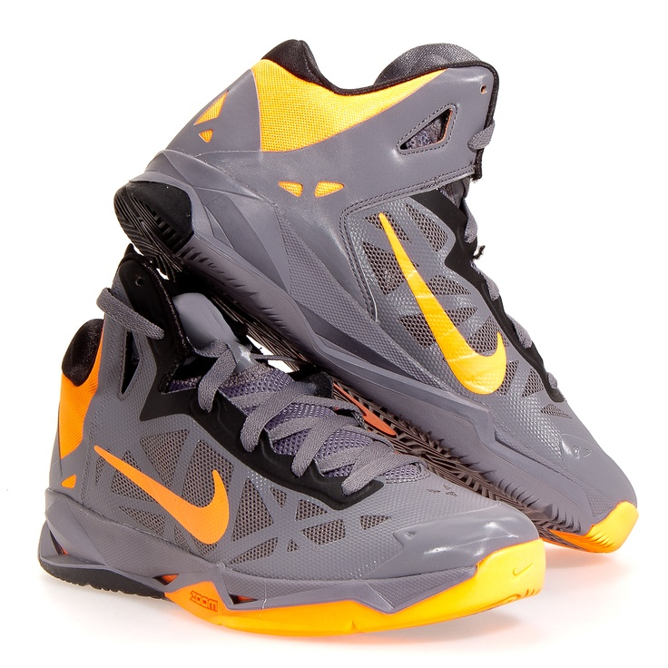 Nike Hyperchaos Men's Basketball Shoes: Charcoal 9 to support the Southern  Mississippi Golden Eagles.