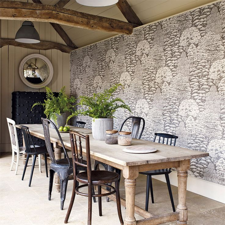Sanderson - Woodland Walk - Woodland Toile Sandersons Woodland Walk Wallpaper, A welcome addition to the home.