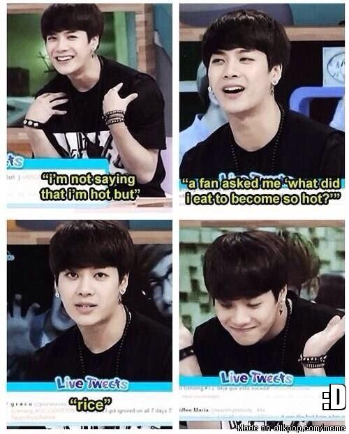 How to become hot by Jackson Wang  (but i would definitely say this oh my god #destined)