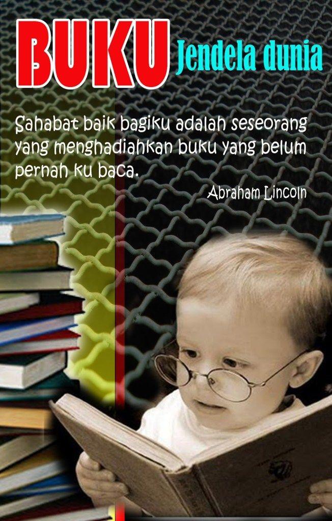 Gambar Poster Pendidikan Buku Adalah Jendela Dunia - The ...