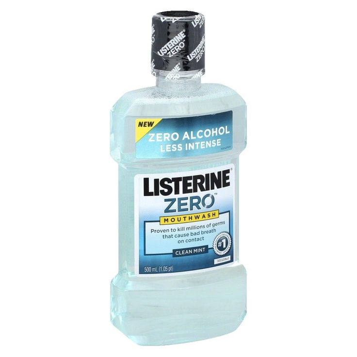 Listerine Zero Mouthwash Clean Mint 500mL