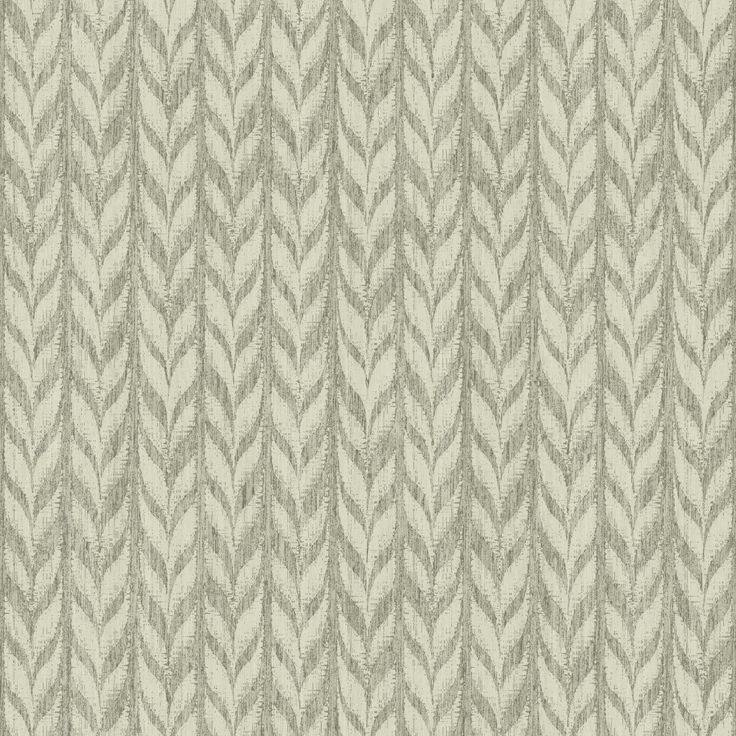 "Ashford Geometrics Graphic Knit 33' x 20.5"" Chevron Wallpaper"