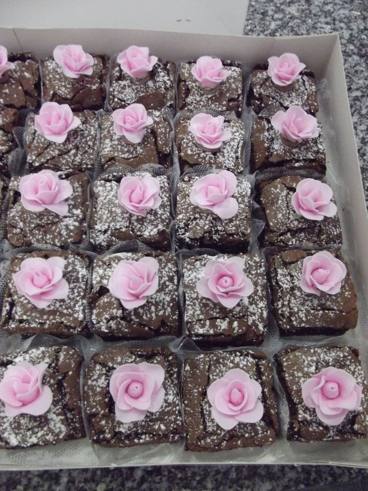 Brownies Decorados.