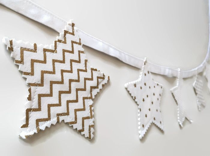 white and gold decor white and gold stars gender neutral nursery