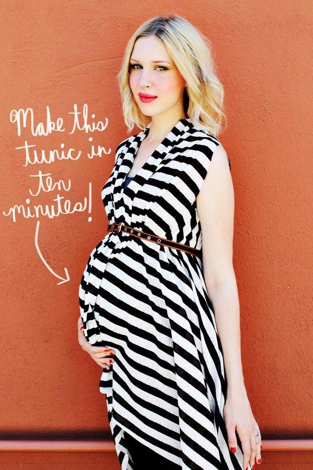 e per tutte le belle donne in dolce attesa.. ecco come essere chic e alla moda    link per il tutorial  http://www.abeautifulmess.com/2012/07/maternity-diy-make-a-tunic.html