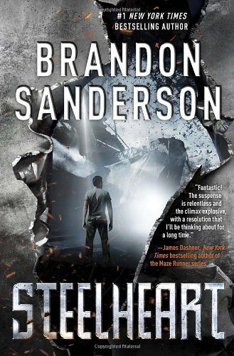 Have only just picked it up but I have loved everything this man has written, it is all awesome! Steelheart by Brandon Sanderson,http://www.amazon.com/dp/0385743564/ref=cm_sw_r_pi_dp_j3Vqsb1AR5MACMJS