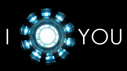 i love you arc reactor animated GIF
