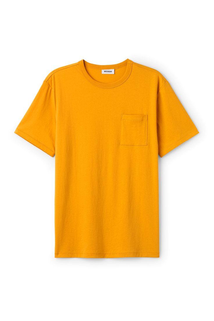 Weekday image 1 of Anton T-shirt in Yellow Reddish