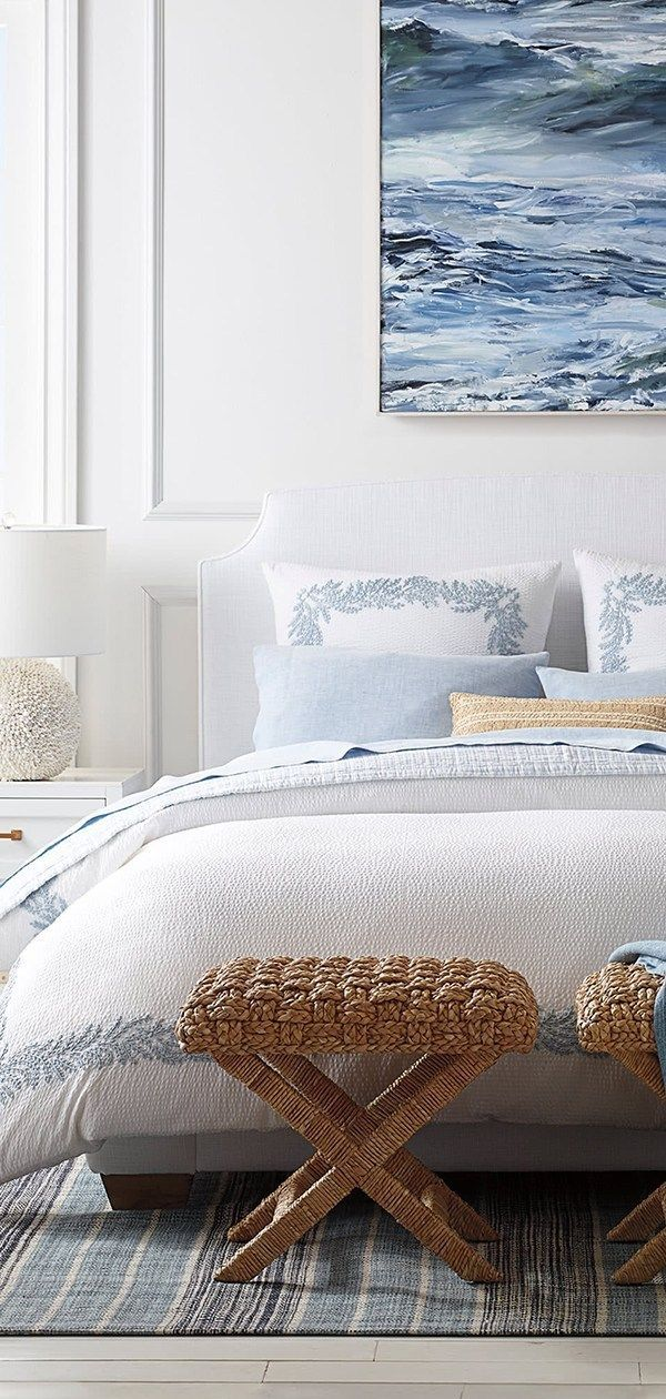 Modern Coastal Design How To Create A Contemporary Coastal Style Coastal Style Bedroom Coastal Bedrooms Coastal Master Bedroom