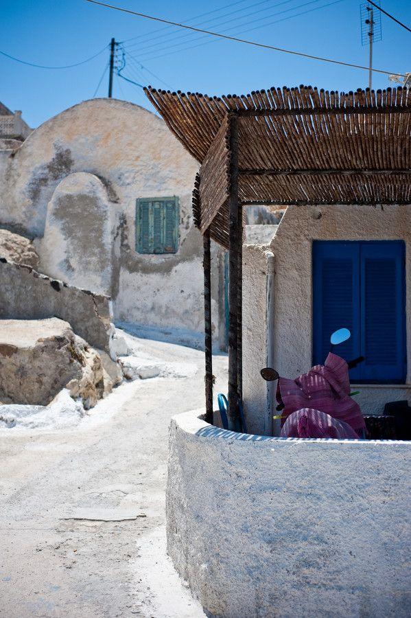 Old Houses in Akrotiri, Santorini