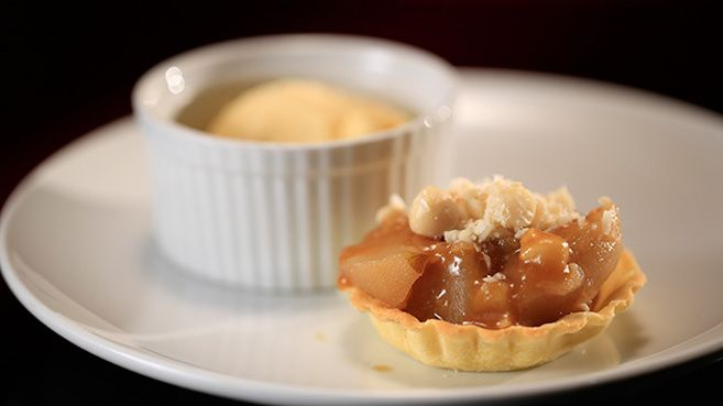 Kick-Ass Apple Pie with Burnt Butter Ice-Cream