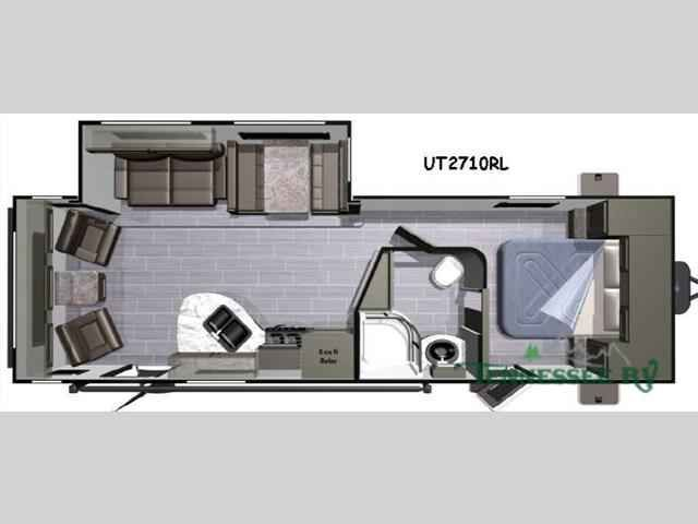 2016 New Highland Ridge Rv Open Range Ultra Lite UT2710RL Travel Trailer in Tennessee TN.Recreational Vehicle, rv, 2016 Highland Ridge RV Open Range Ultra Lite UT2710RL, This rear living Open Range Ultra Lite by Highland Ridge RV offers a convenient way to spend time away from home. Model 2710RL features a large slide out which increases theinterior walking around space, and dual entry doors for added convenience, plus more!Step inside the door furthest to the rear and notice two push…