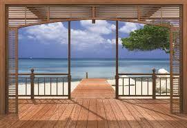 photomurales terrace - Cerca con Google