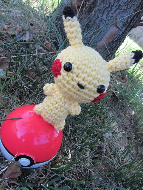 Chibi Pikachu Amigurumi : 17 Best images about Projects to Try on Pinterest Free ...