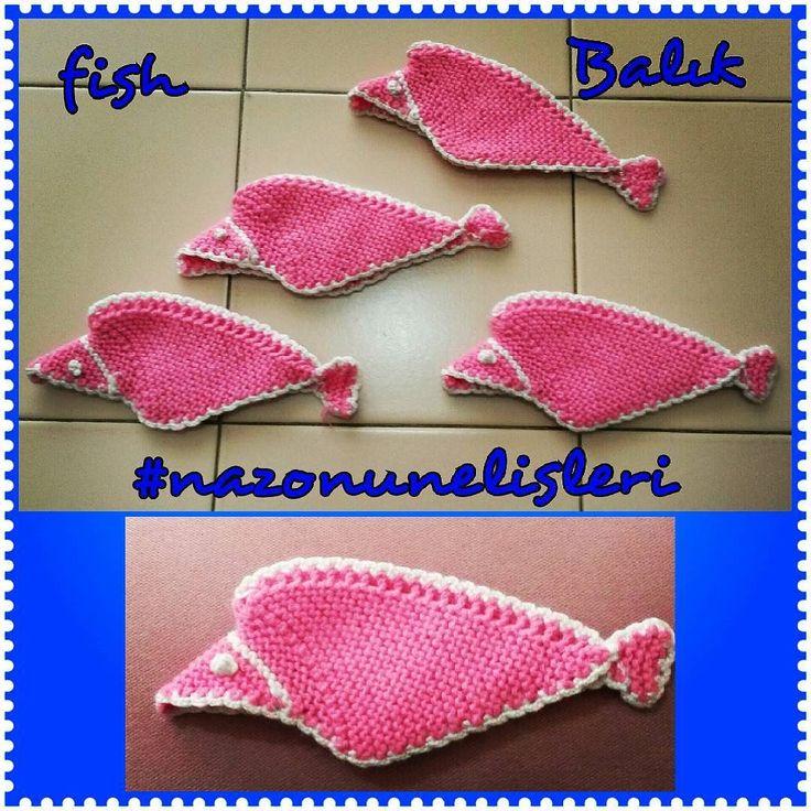 nazohandmade:: Balık  mutfak  tutacakları ... #balik #fish #tutacak #potholder #kitchen #mutfak #örgü #orgu #knit #knitting #knitter #knittinglove #crochet #crocheting #craft #amigurumi #handmade #handcraft #elisi #elyapimi #nazonunelisleri #örgüoyuncak #orguoyuncak #iplik #rope #yün #yarn #wool  #pembe #pink