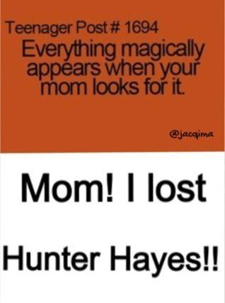 I LOST HUNTER HAYES!!