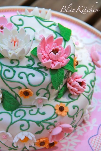 FlowersMail, Cake Design, Cafes, Flower Cakes, Parties Cake, Floral Cake, Cups Cake, Cake Cake, Party Cakes