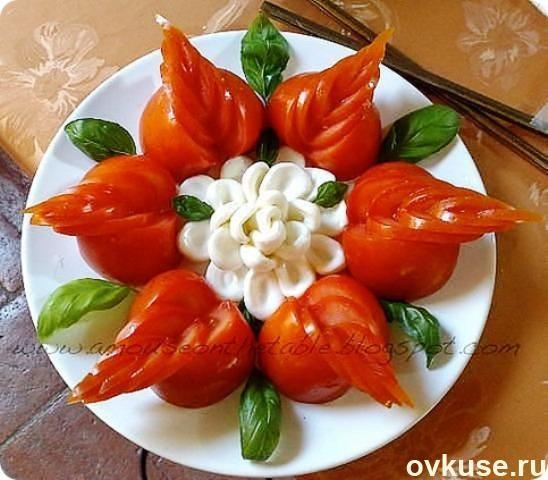 Krásna ▲ ▲ dodávka rezy zeleniny - Jednoduché recepty Ovkuse.ru