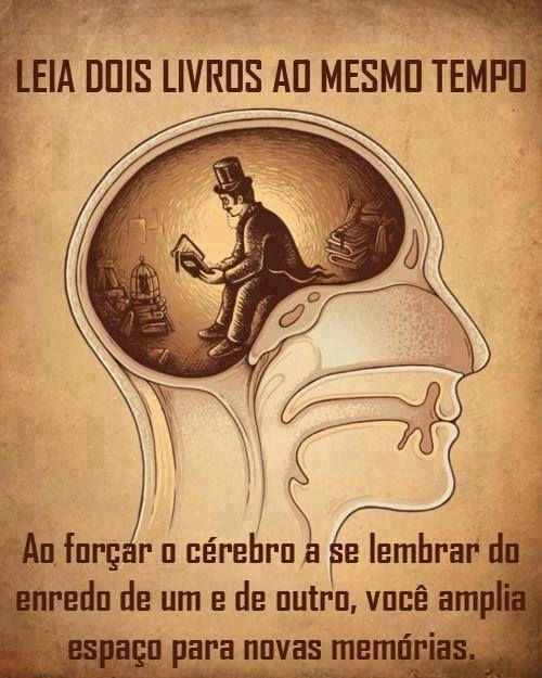 Post Fala Sério! : ARTE DE LER !
