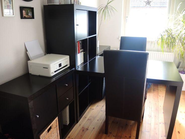 ikea kallax schreibtisch. Black Bedroom Furniture Sets. Home Design Ideas