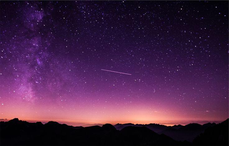 Picalls.com | Amazing night sky.
