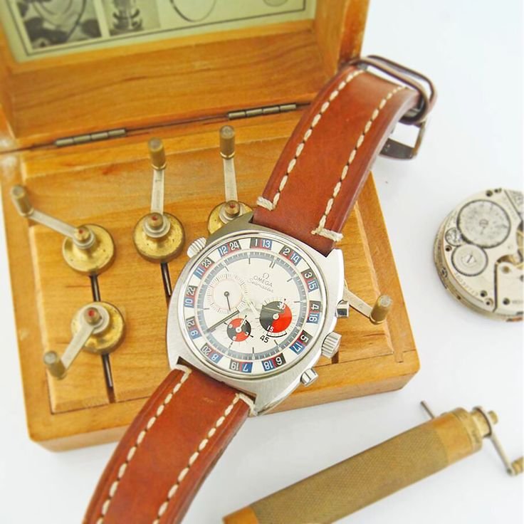Omega vintage  Roulette wheel #vintagechronograph