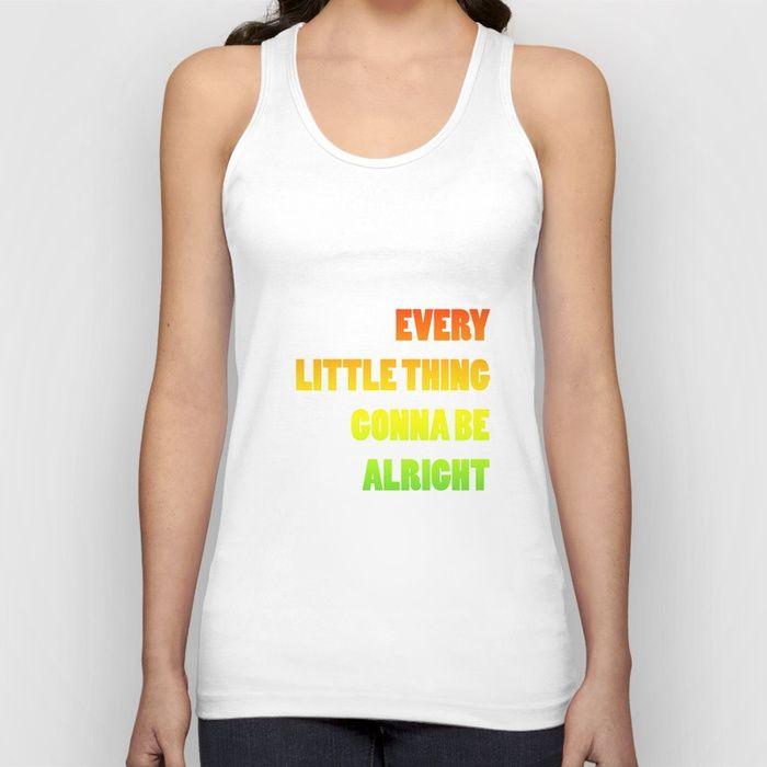 top very little thing is gonna be alright, reggae music, bob marley  camiseta top, música reggae