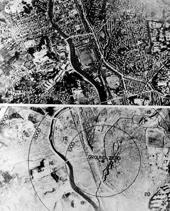 the history of hiroshima after the bombing in 1945 The atomic bomb was dropped on hiroshima on august 6 1945 killing thousands instantly and about a brief history of stephen hiroshima after the atomic bomb.