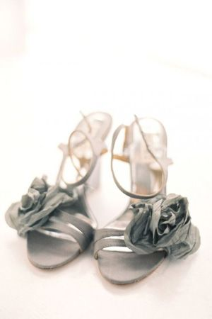 Might be awkward to walk in but I would give them a shot! Grey strapy pumps